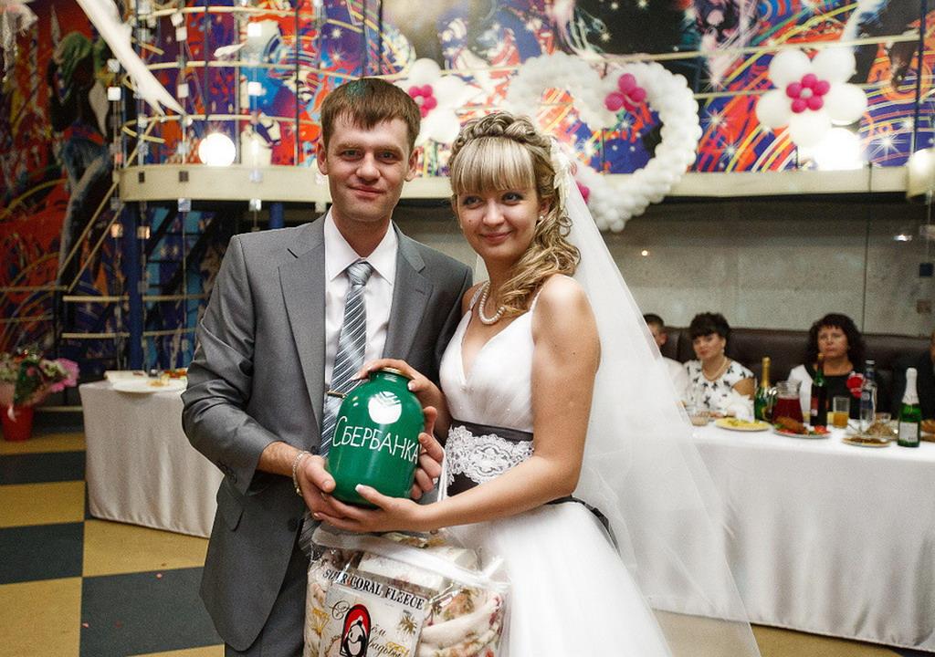 Как сделать банк для свадьбы своими руками фото урок
